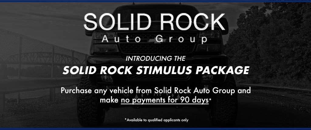 Solid Rock Stimulus Package