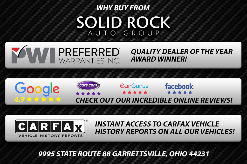 Why Buy from Solid Rock Auto Group